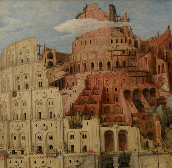 Tower of Babel, Pieter Bruegel the Elder