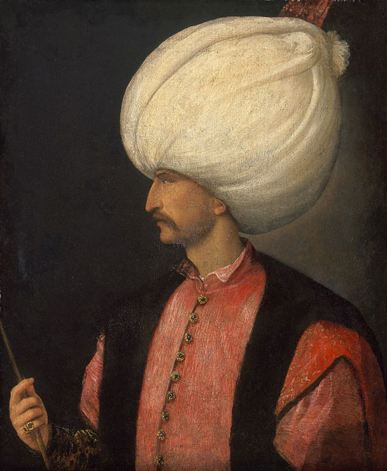 Suleiman the Magnificent, Titian