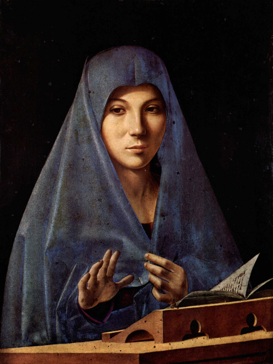 Antonello da Messina, Virgin Annunciata