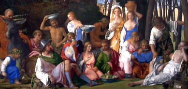 bellini feast of the gods