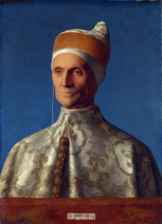 The Doge Leonardo Loredan, Giovanni Bellini
