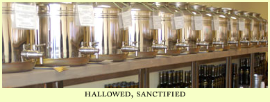 hallowed, sanctified