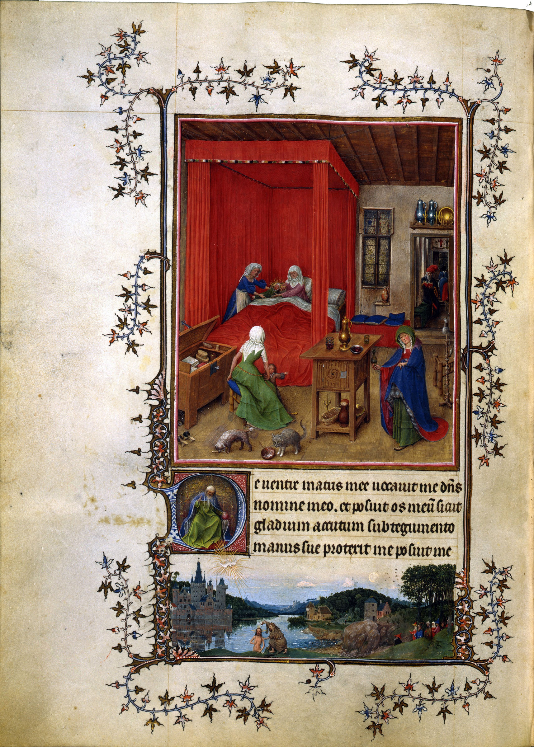Milan-Turin book of hours, van Eyck