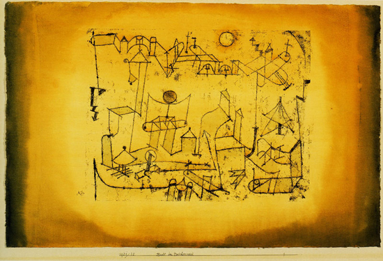 Paul Klee, City of Intermediate Forms