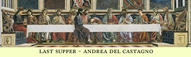 last supper castagno