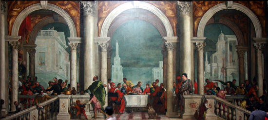 Feast in the House of Levi, Paolo Veronese