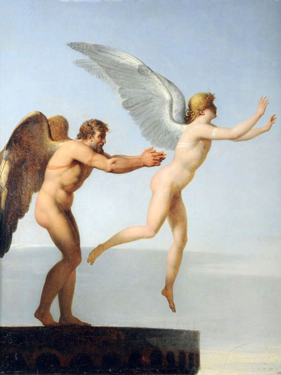 Daedalus and Icarus, Charles Paul Landon