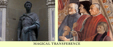 magical tranformation