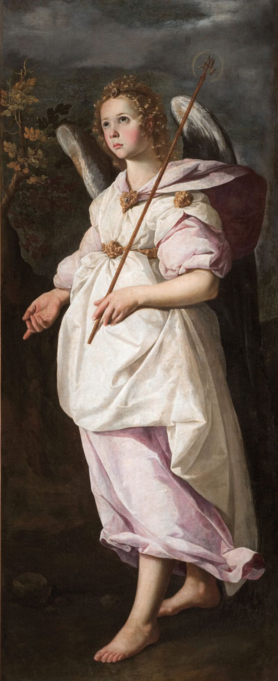 Francisco de Zurbarán, Angel Gabriel