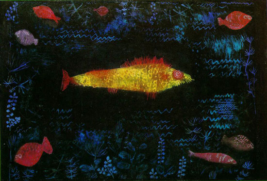The Goldfish, Paul Klee