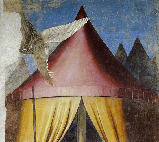 Piero della Francesca, Vision of Constantine before the Battle of the Milvian Bridge, Arezzo