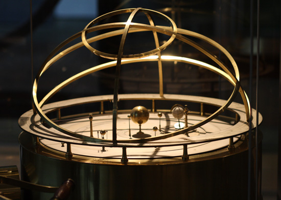 Grand Orrery in the Putnam Gallery