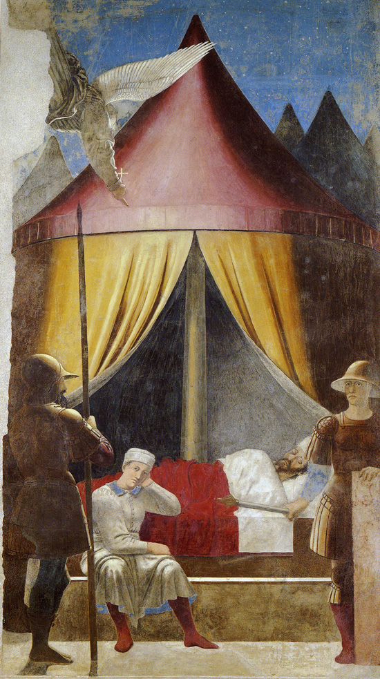 Piero della Francesca, The Dream of Constantine