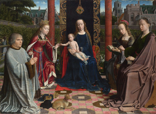 Virgin and Child with Saints and Donor, Gerard David