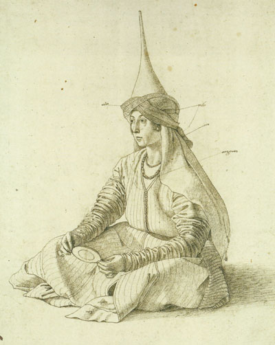 A Woman in Middle Eastern Costume, Gentile Bellini
