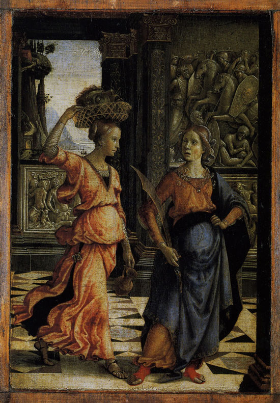 Ghirlandaio, Judith and her maidservant