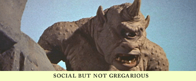 social not gregarious