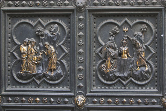 South Doors, detail, Andrea Pisano
