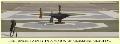 trapped in a vision of classical clarity