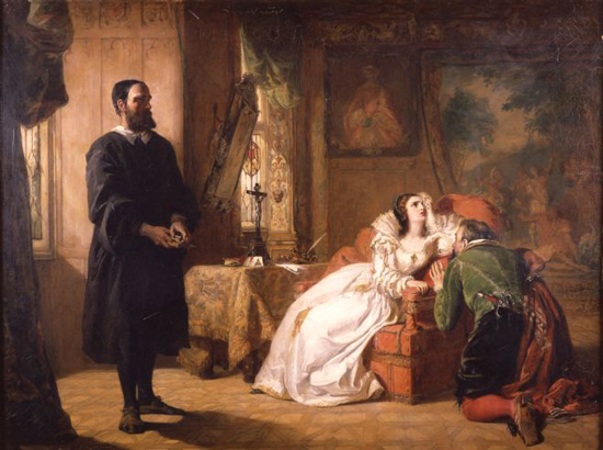 John Knox Upbraiding Mary Queen of Scots