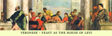 Veronese Feast at the House of Levi