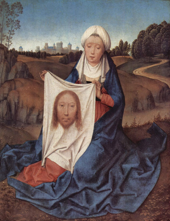 Hans Memling, Veronica with the Sudarium
