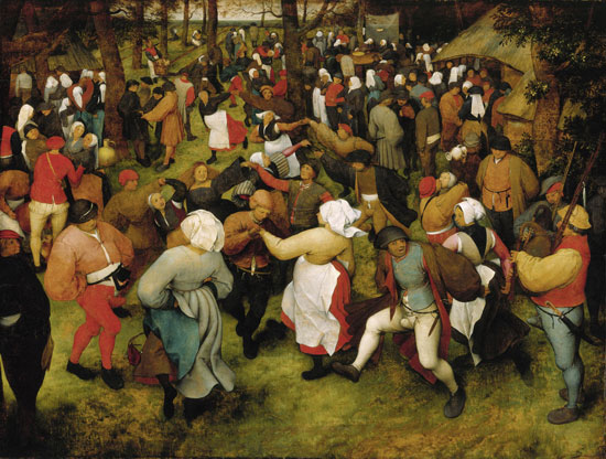 Pieter Bruegel, The Wedding Dance