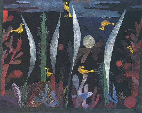 Paul Klee, Landscape with Yellow Birds