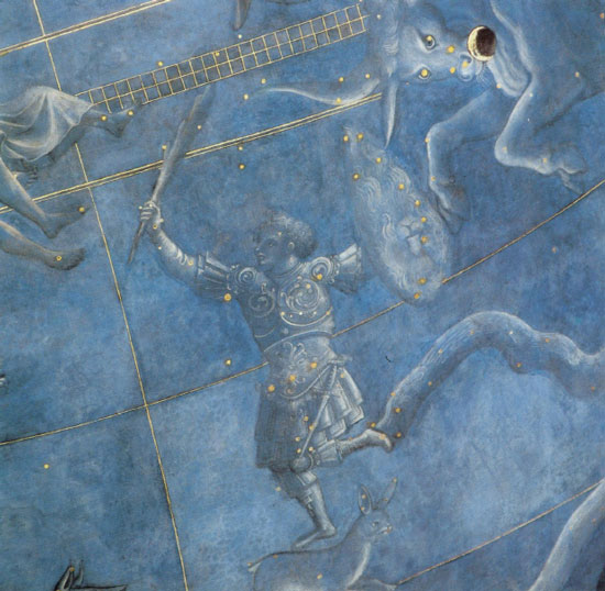 Orion, Sky of July, 1442